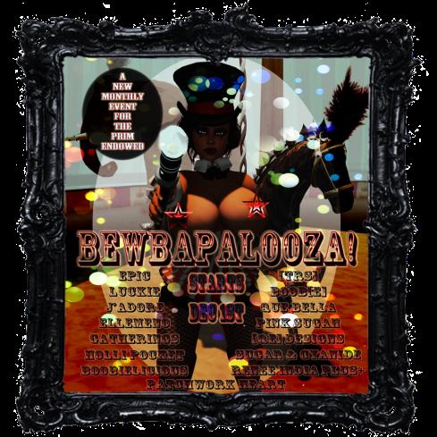Bewbapalooza Store Poster