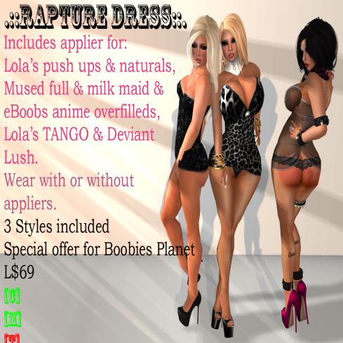 Rapture blacks vendor - boobies planet