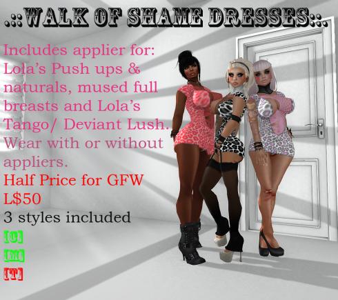 walk of shame  rawr vendor GFW
