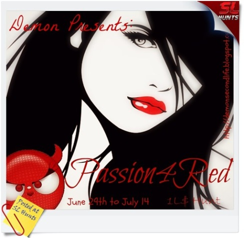 passion for red poster