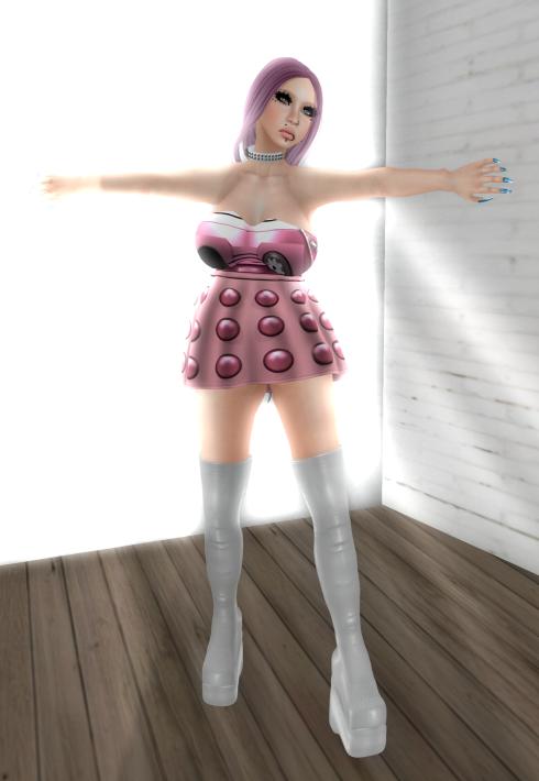 PWH Pink Dalek - rare_001