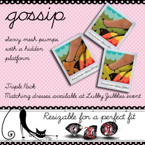 Gossip pumps - citrus stars