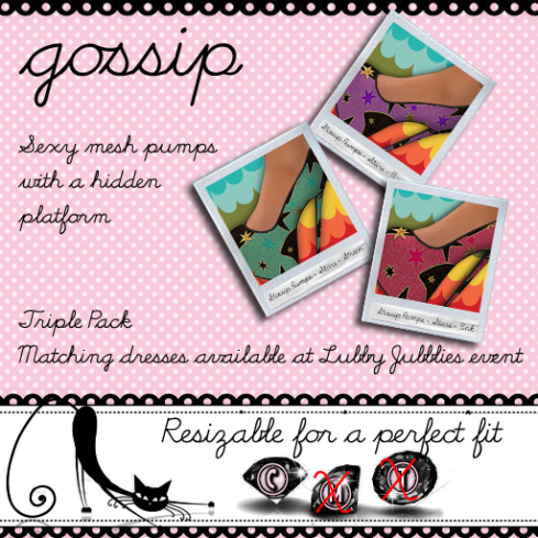 gossip pumps - forest fruits - stars