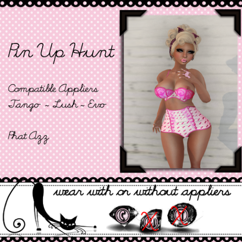 Pin Up Hunt Poster