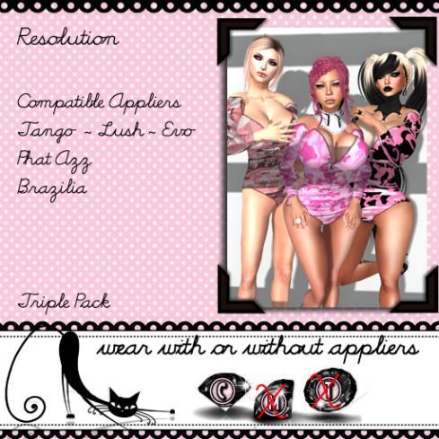 Resolution - Pinks - Vendor