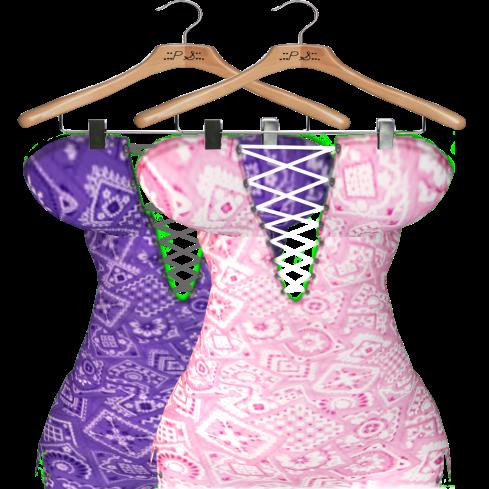 Delirium vendor - purple & pink