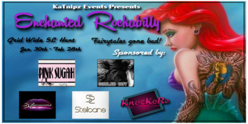 Enchanted Rockabilly Poster