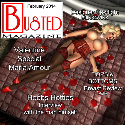 ! Busted Front Cover Feb