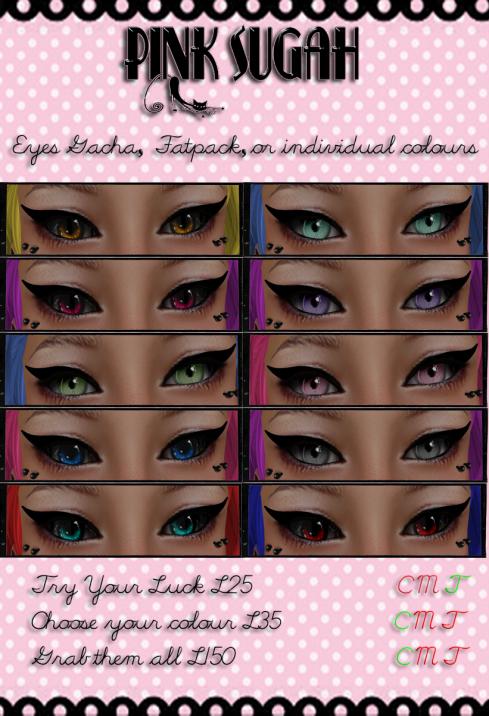 Eyes Gacha Poster