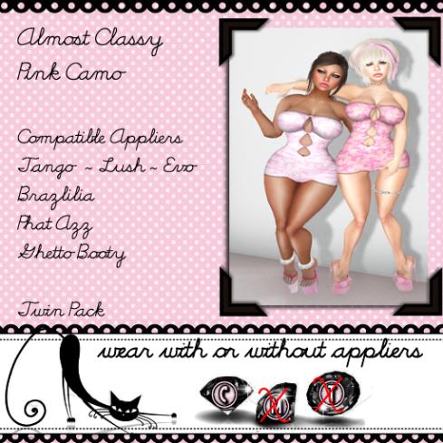 Almost classy - pink camo vendor
