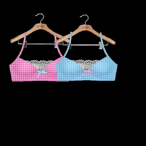 runaway vendor - pink & blue