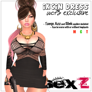 ikciN Dress AD 2