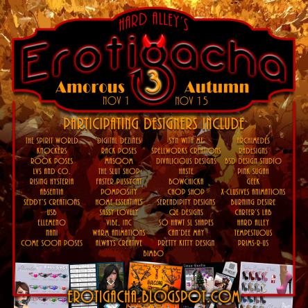 Erotigacha 3 Amorous Autumn Participants