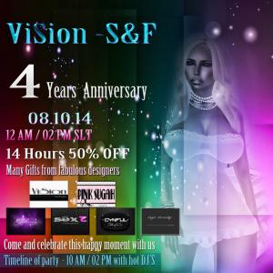 {ViSion} -S&F - 4 Years Anniversary
