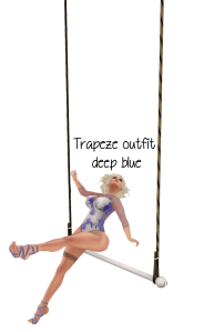 trapeze vendor - deep blue