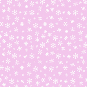 _Z Best_ Snowflakes White on Frosty Pink
