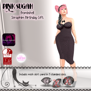 seraphim birthday gift poster